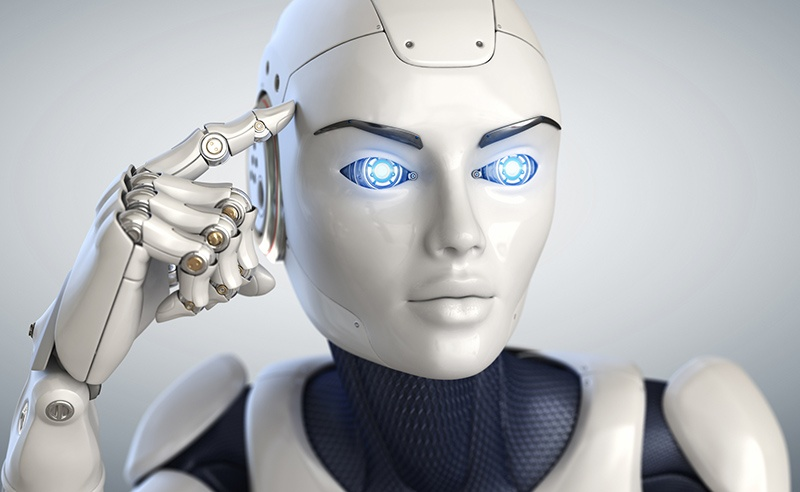 Roboter im Kundenservice