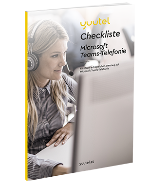 Download Checkliste Umstieg Microsoft Teams-Telefonie