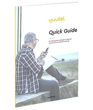Quick-Guide yuu-Phone Mobile für Android