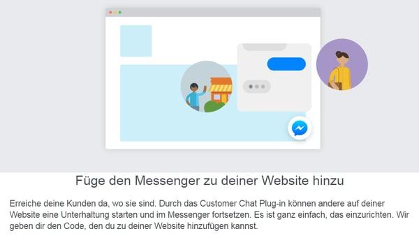 Social Media Customer Service Messenger verknüpfen