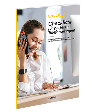 yuutel Checkliste für perfekte Telefonansagen