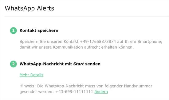 deadstock whatsapp anmeldung