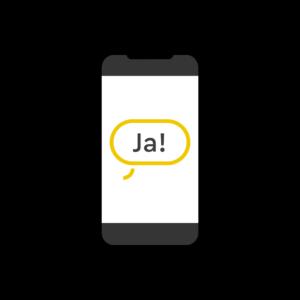 Telefon mit Antwort-SMS