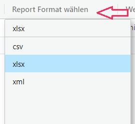 report format_yuutel kundenzone