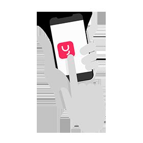 Mobiles Büro mit yuu Phone