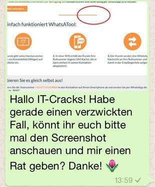 Whatsapp für interne Kommunikation - zeitliche und räumliche Flexibilität